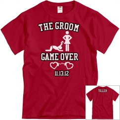 Game Over Tee w/Back