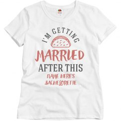 Getting Married After Tacos