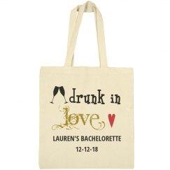 Drunk in Love Bachelorette Tote