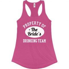 Team Bride Drinking Team