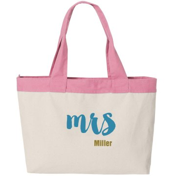 After Wedding Canvas Bag