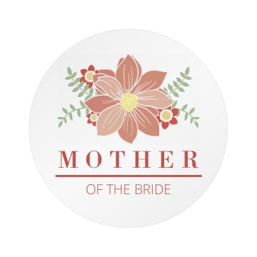 All Over Print Mother Of The Bride