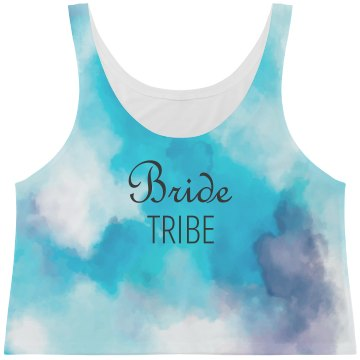 All Over Print Tank Bride Tribe Tank