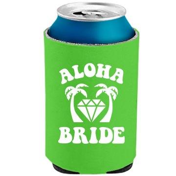 Aloha Bride Bachelorette Neon