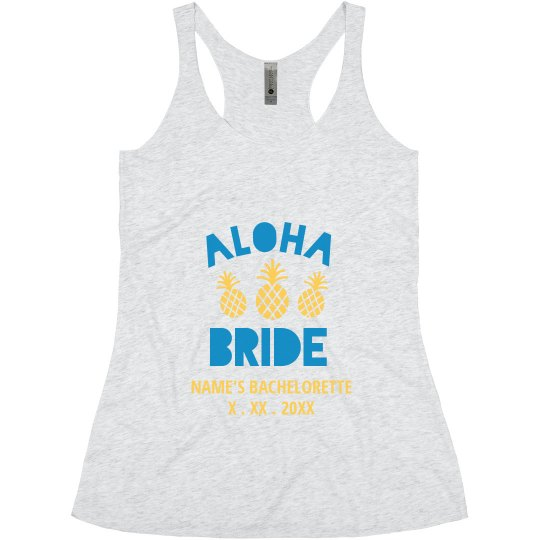 Aloha Bride Custom Design