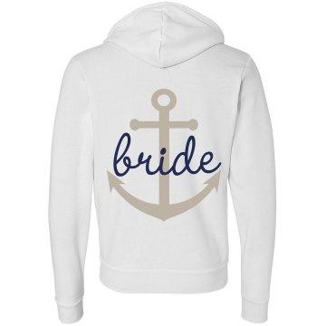 Anchor Bride Hoodie