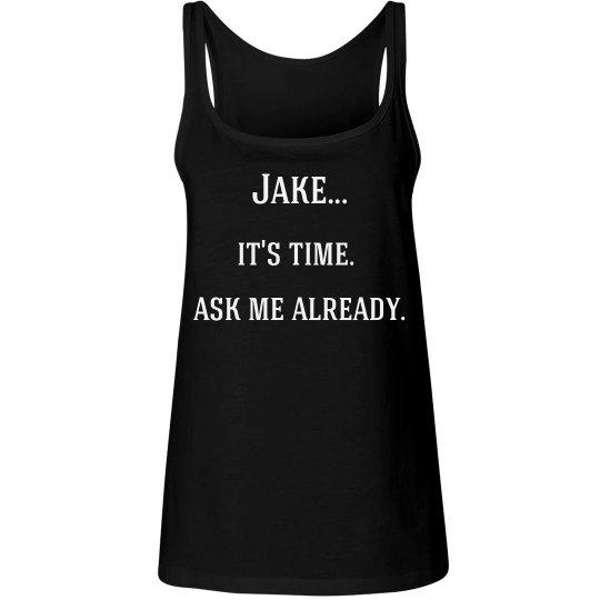 Ask Me Already Tee