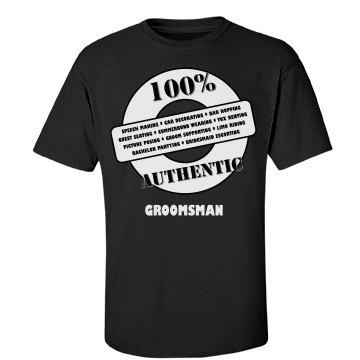 Authentic Groomsman