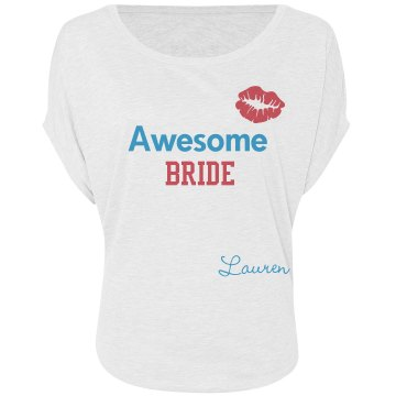 Awesome Bride Tee