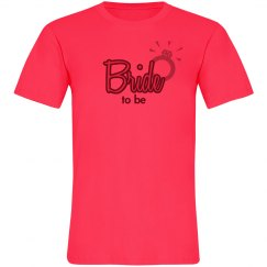 Bride To Be Neon Tee