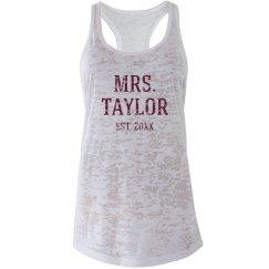 Mrs. Taylor Est.