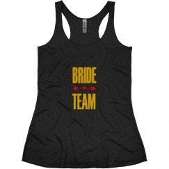 Bride Tribe Tank Top With Arrow Heart