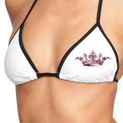 His Queen Bikini Top