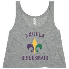 Mardi Gras Bridesmaid 1