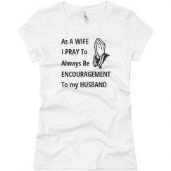 Encouraging Wife