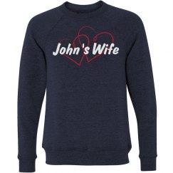 John's Wife Sweatshirt
