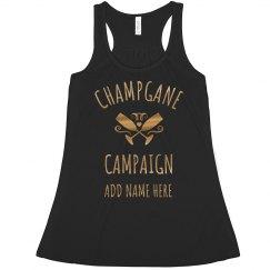 Champagne Campaign Bachelorette