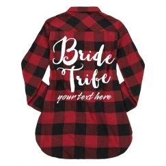 Custom Cozy Bride Tribe Design