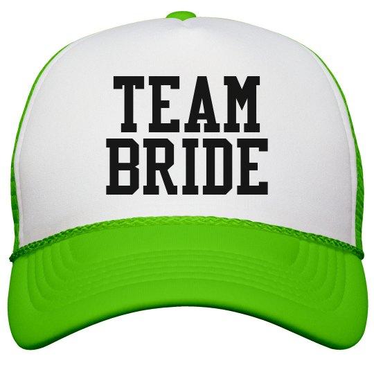 95fe44df3d6 Team Bride Trucker Hat Snapback Trucker Hat