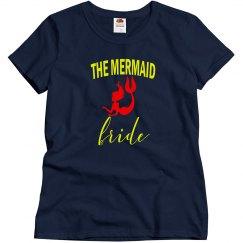 Mermaid Bride Bachelorette Tshirt