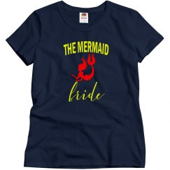 Mermaid Bride Bachelorette Tshirt