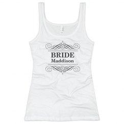 Bride Scroll Tank