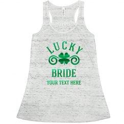 Metallic Lucky Bride Shamrock