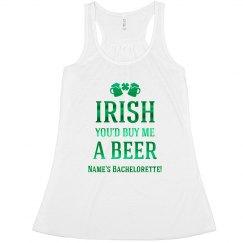 Irish Buy Me Beer Bachelorette