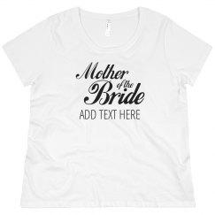 Custom Mother Of The Bride Script