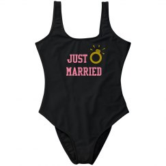Just Married Swimwear