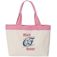 Maid of Honor Cavas Bag