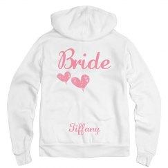 Custom Bridal Hoodie