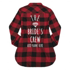 The Brides Crew Buffalo Plaid