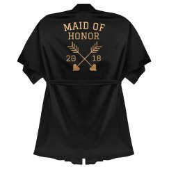 Maid of Honor Rose Gold Metallic