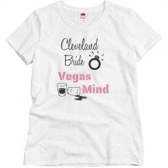 Cleveland Bride-T shirt