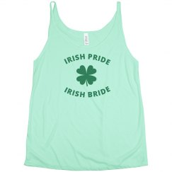 Irish Pride Irish Bride Tank Top