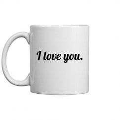 I Love You Coffee