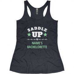 Funny Saddle Up Bachelorette Party