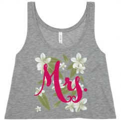 Beach Mrs Tropical Top