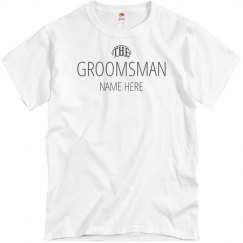 The Groomsmen Tee