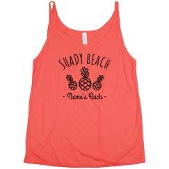 Custom Bachelorette's Shady Beach