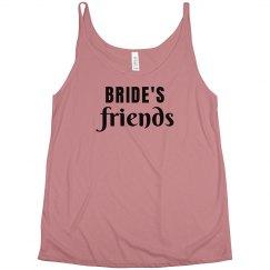 Bride's  Friends Tank Top