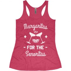 Margaritas for the Senoritas Bachelorette Tanks