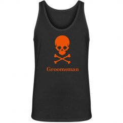 Halloween Wedding Groomsman Tank top