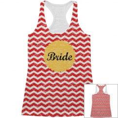 Custom All Over Print Bride Tank