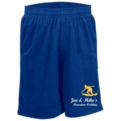 Hawaiian Wedding Shorts