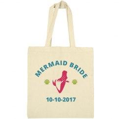 Mermaid Bride Bachelorette Tote