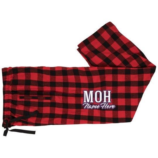 ee2984506b Maid of Honor PJs Unisex Fashion Flannel Pajama Pants