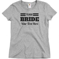 Custom Team Bride & Groom Matching Couple