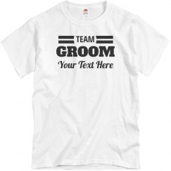 Custom Team Groom & Bride Matching Couple